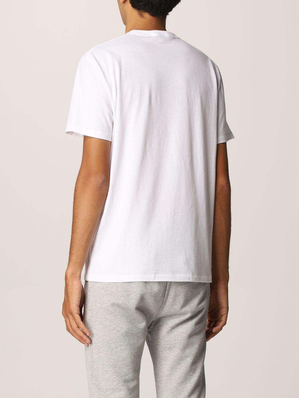 T-shirt Alexander Mcqueen: T-shirt Alexander McQueen con stampa grafica bianco 3