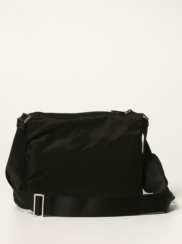 Borse a tracolla Prada: Borsa a tracolla Prada in nylon nero 2