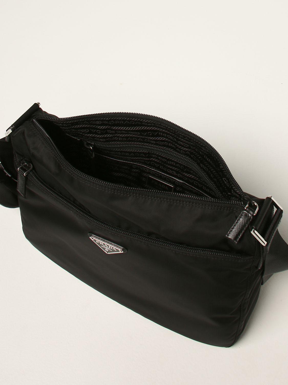 Borse a tracolla Prada: Borsa a tracolla Prada in nylon nero 4