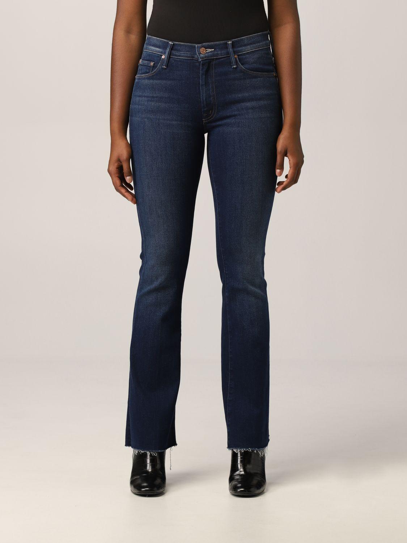 Jeans Mother: Jeans a 5 tasche Mother in denim washed denim 1