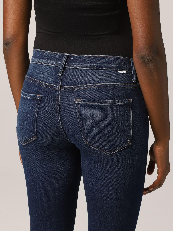 Jeans Mother: Jeans a 5 tasche Mother in denim washed denim 3