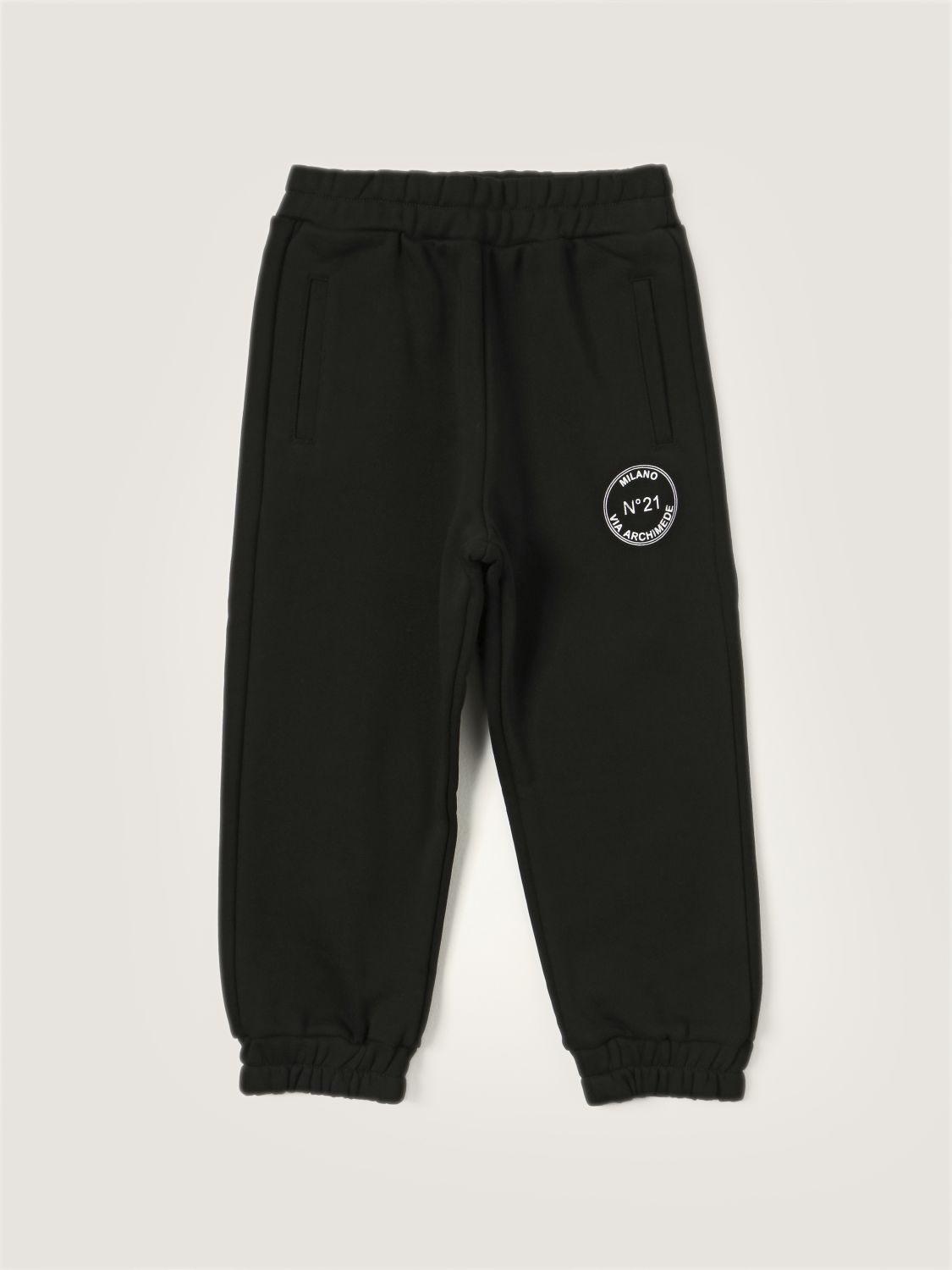 Trousers N° 21: N ° 21 jogging trousers with logo black 1