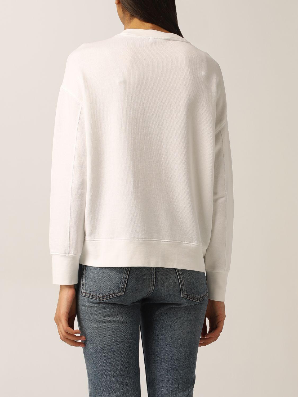 Sweat-shirt Vince: Pull femme Vince blanc 2