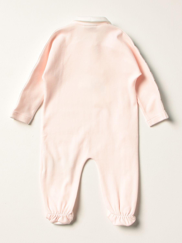 Распашонка Fendi: Костюмчик Детское Fendi розовый 2