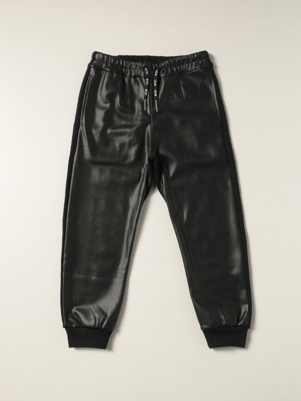 Trousers N° 21: Trousers kids N° 21 black 1