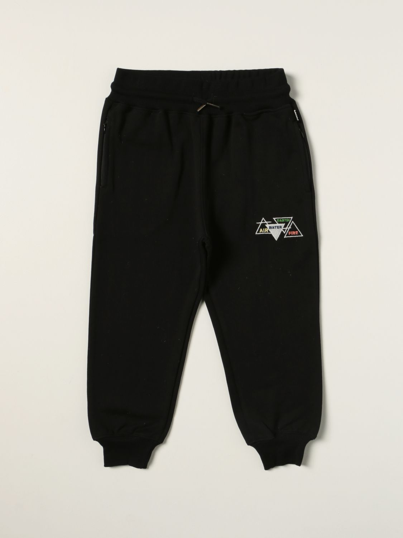 Pants Molo: Molo jogging pants in cotton black 1