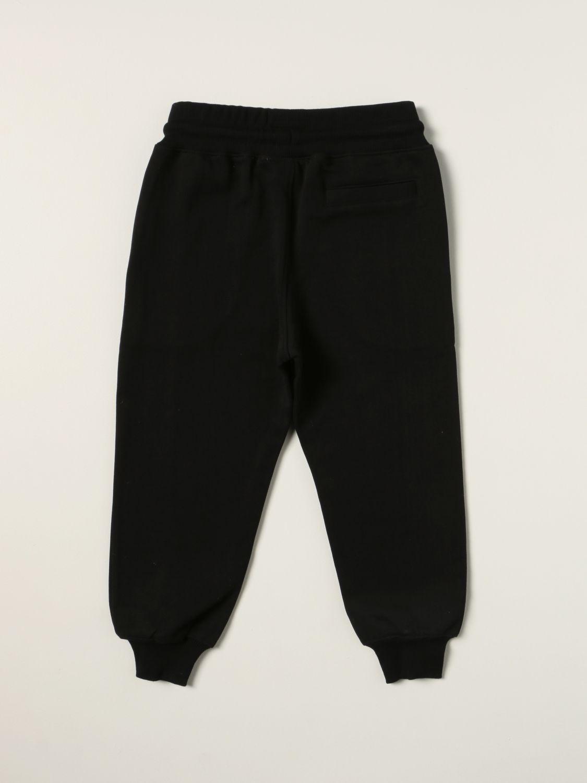 Pants Molo: Molo jogging pants in cotton black 2