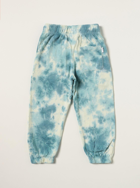 Pants Molo: Molo jogging pants with tie dye pattern white 2