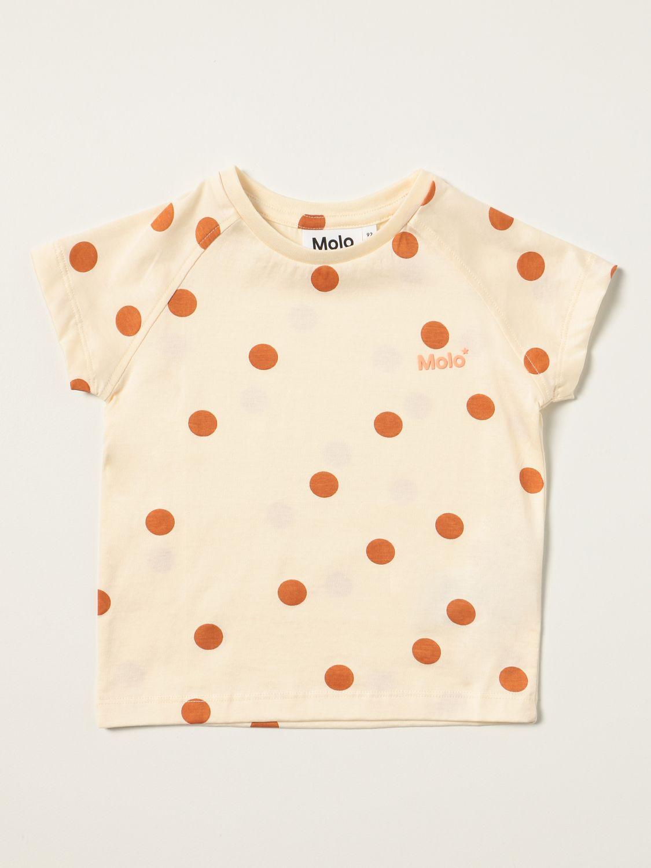T-shirt Molo: T-shirt enfant Molo jaune crème 1