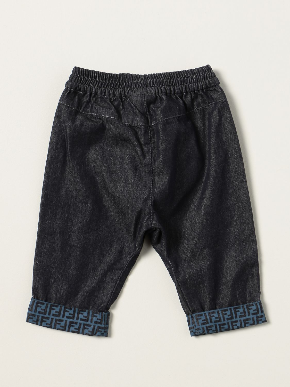 Jeans Fendi: Fendi jogging jeans in denim denim 2