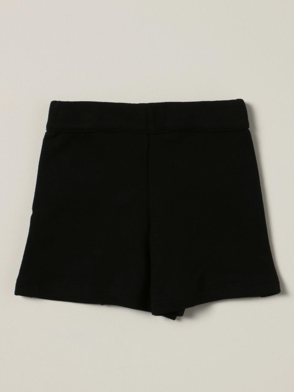 Шорты Balmain: Штаны Детское Balmain черный 1 2