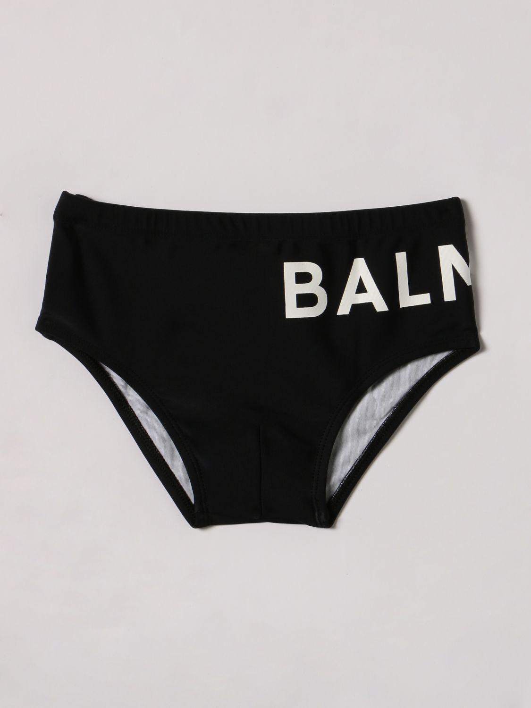 Swimsuit Balmain: Balmain briefs with logo black 1