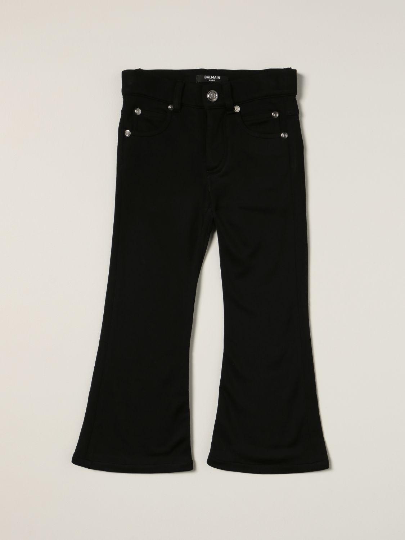 Jeans Balmain: Balmain flared jeans black 1