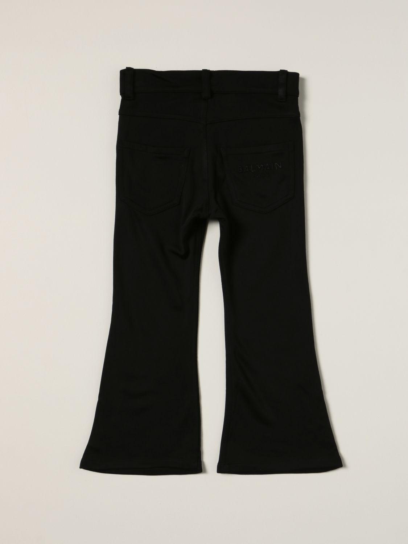 Jeans Balmain: Balmain flared jeans black 2