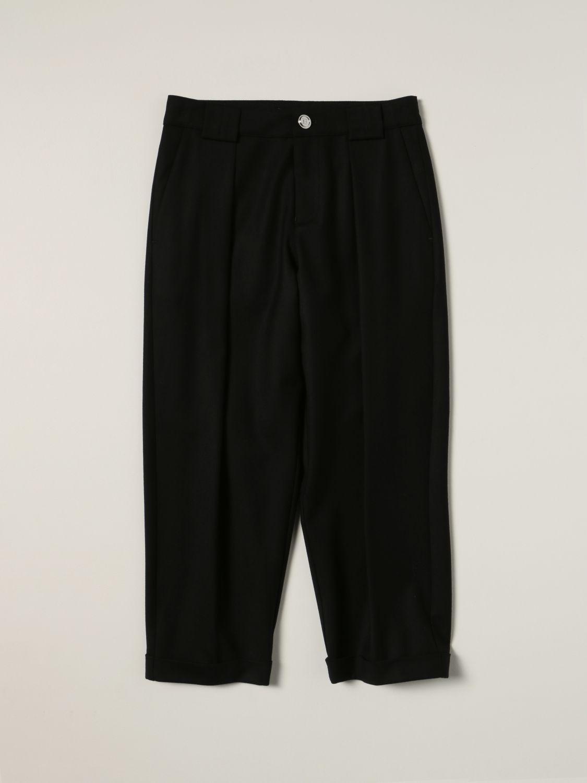 Pants Balmain: Balmain pants in virgin wool blend black 1