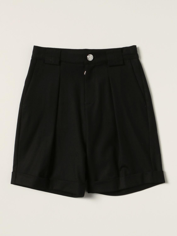 Pantaloncino Balmain: Bermuda Balmain in lana vergine nero 1