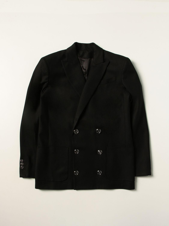 Blazer Balmain: Balmain double-breasted jacket black 1