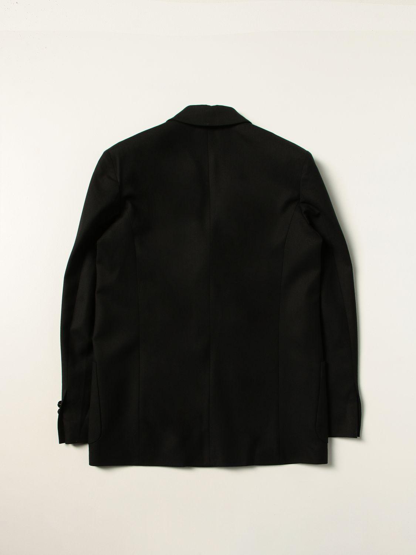 Blazer Balmain: Balmain double-breasted jacket black 2