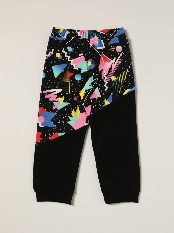 Pants Balmain: Balmain jogging pants with abstract print black 2