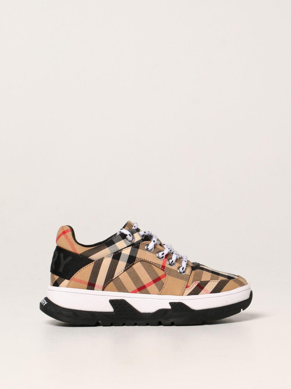 Обувь Burberry: Обувь Детское Burberry бежевый 1