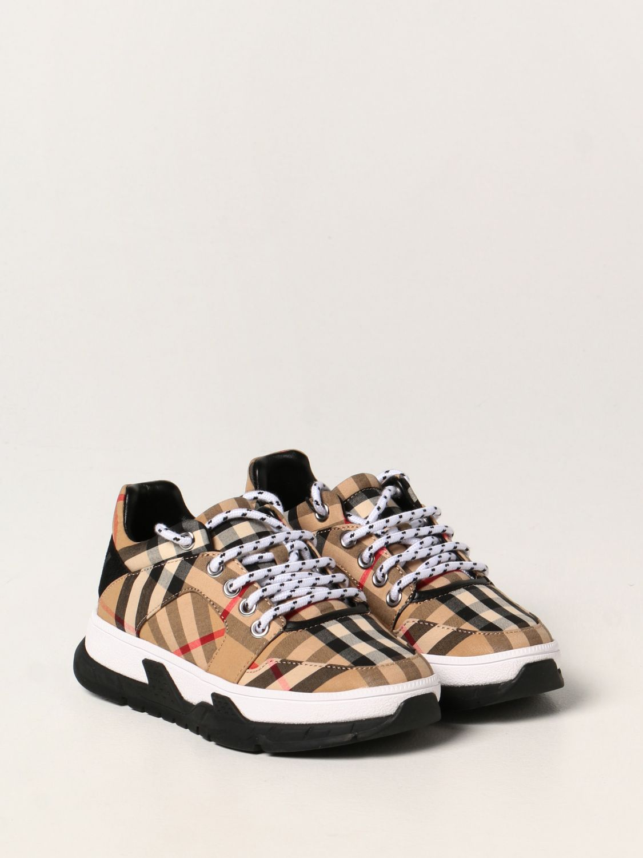 Обувь Burberry: Обувь Детское Burberry бежевый 2