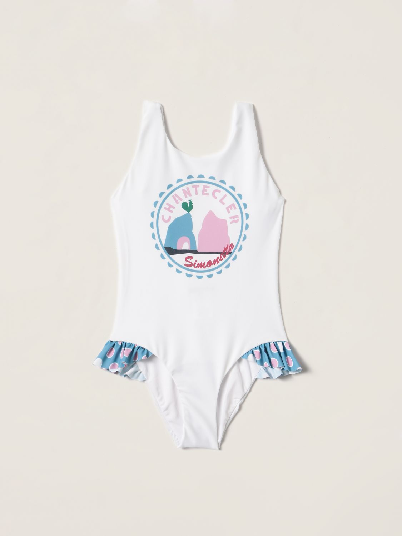 Swimsuit Simonetta: Swimsuit kids Simonetta white 1
