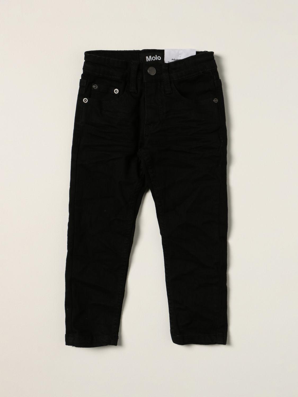 Jeans Molo: Molo jeans in slim fit denim black 1