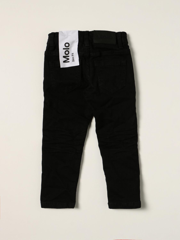 Jeans Molo: Molo jeans in slim fit denim black 2