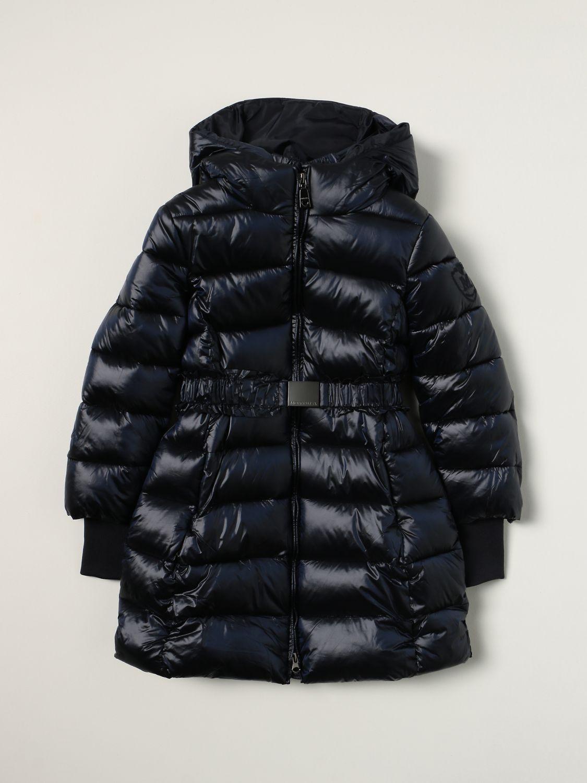 Jacket Monnalisa: Monnalisa down jacket in padded nylon blue 1