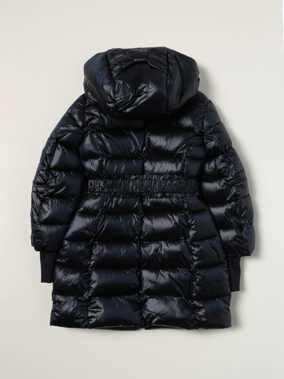 Jacket Monnalisa: Monnalisa down jacket in padded nylon blue 2