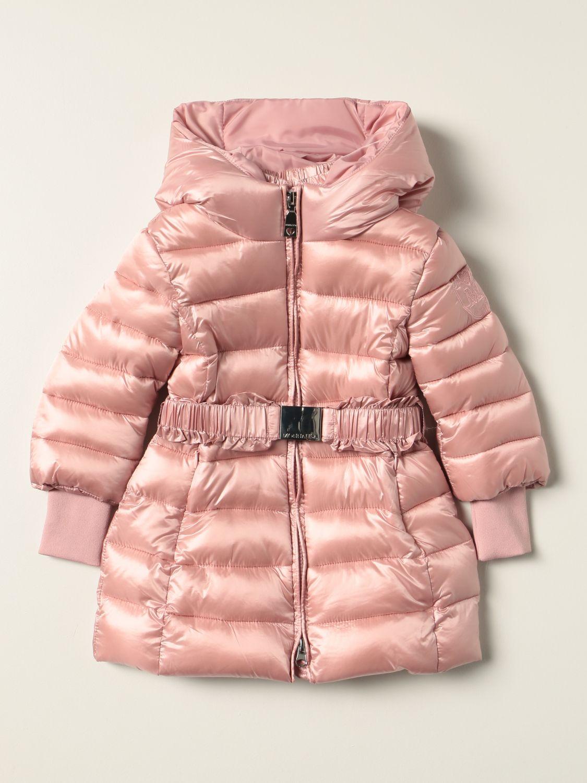 Jacket Monnalisa: Monnalisa down jacket in padded nylon pink 1