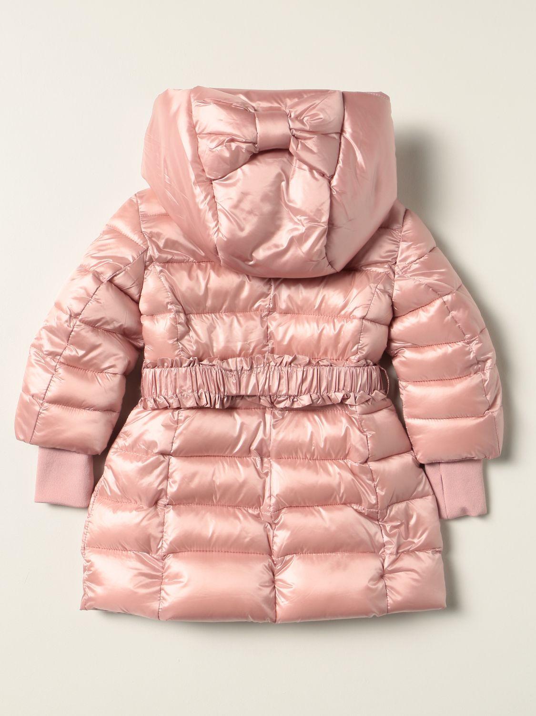 Jacket Monnalisa: Monnalisa down jacket in padded nylon pink 2