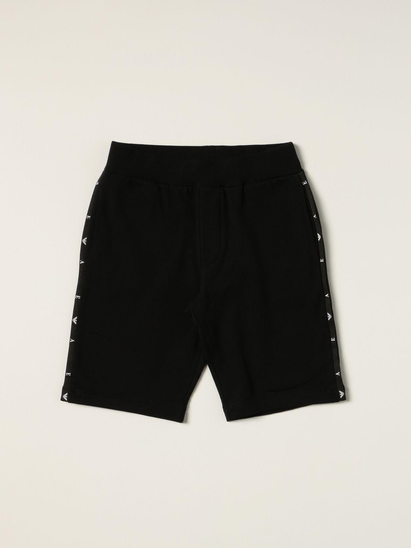 Shorts Emporio Armani: Emporio Armani jogging shorts black 1