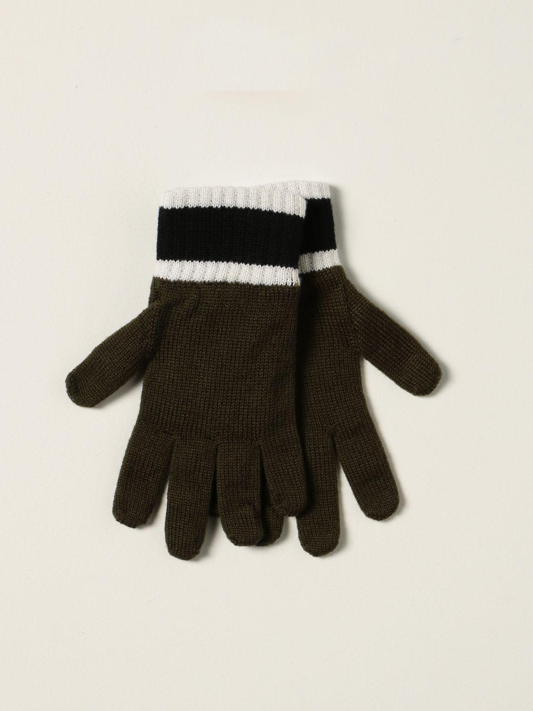 Gloves Emporio Armani: Emporio Armani gloves with logo green 2