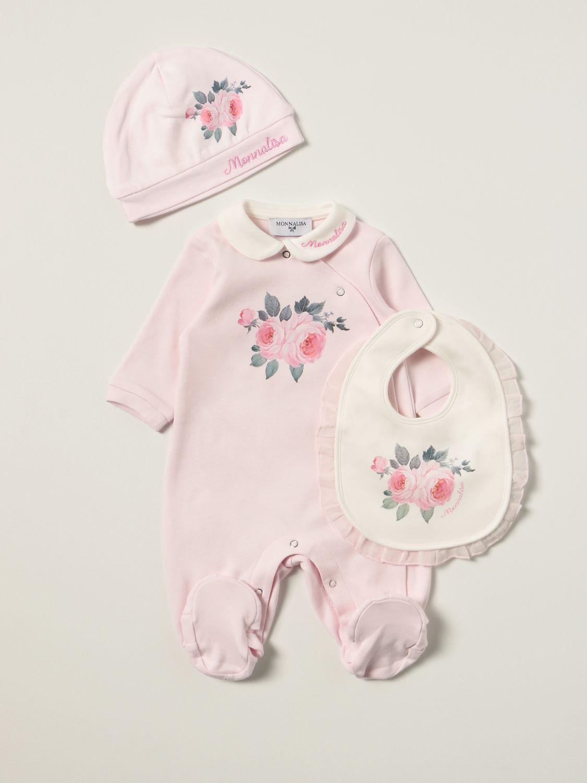 Pack Monnalisa: Combinaisonn enfant Monnalisa rose 1