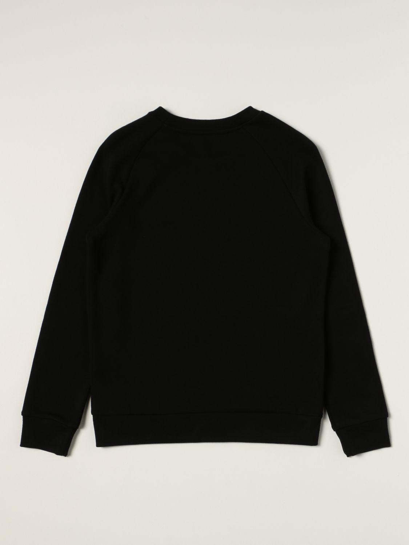 Maglia Balmain: Felpa Balmain in cotone con logo nero 2