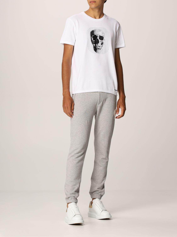 Pantalone Alexander Mcqueen: Pantalone jogging Alexander McQueen grigio 2