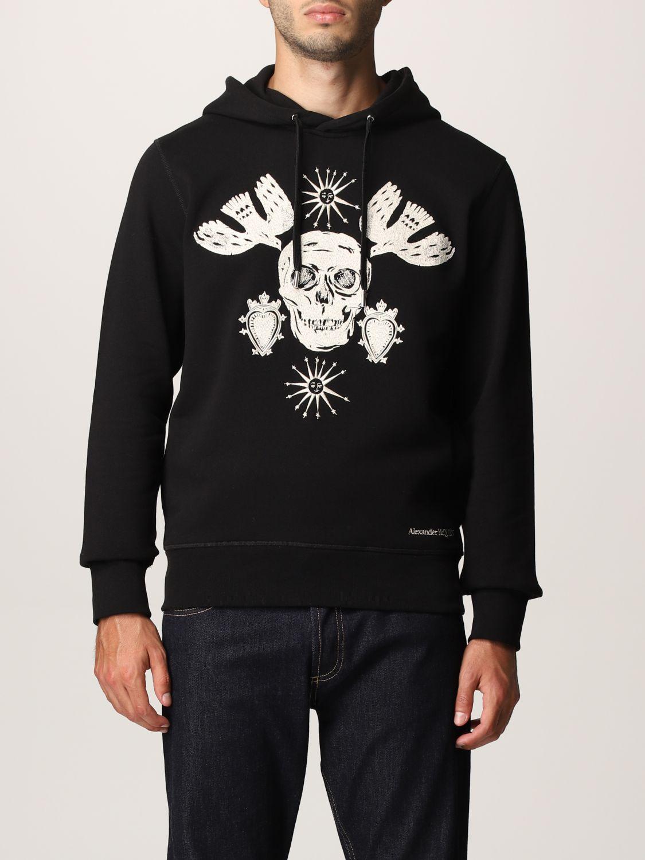 Sweatshirt Alexander Mcqueen: Alexander McQueen hoodie black 1