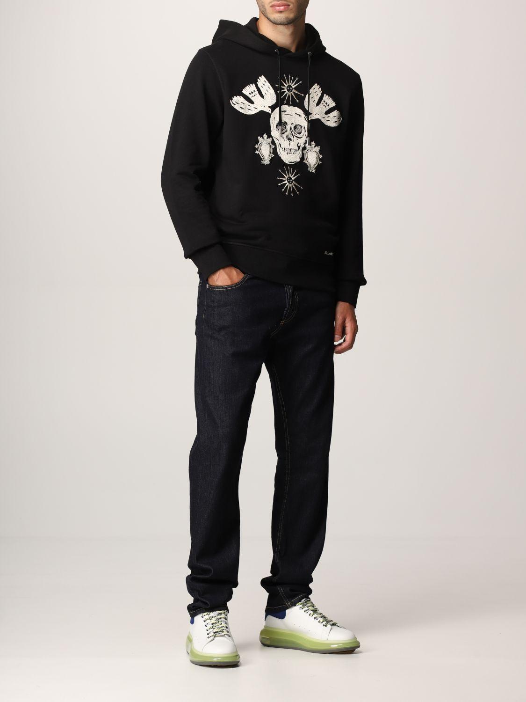 Sweatshirt Alexander Mcqueen: Alexander McQueen hoodie black 2