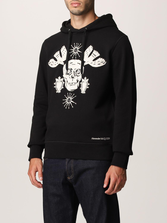 Sweatshirt Alexander Mcqueen: Alexander McQueen hoodie black 4