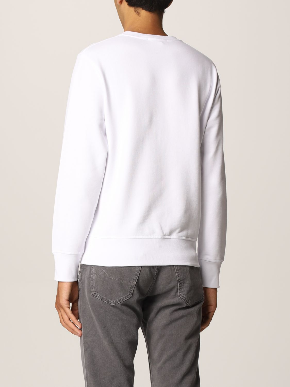 Sweatshirt Alexander Mcqueen: Alexander McQueen cotton sweatshirt with skull white 3