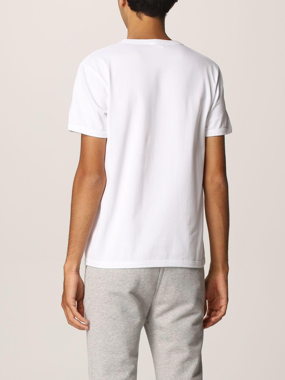 T-shirt Alexander Mcqueen: T-shirt Alexander McQueen con stampa teschio bianco 3