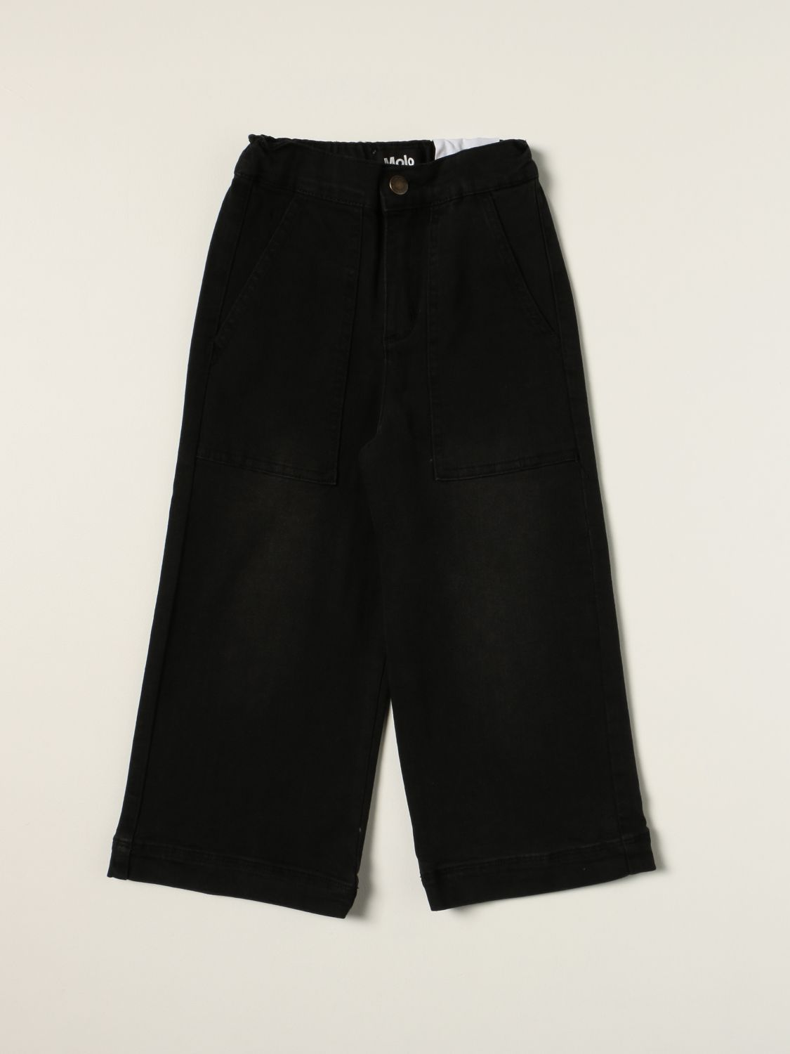 Jeans Molo: Molo jeans in extra relaxed fit denim black 1