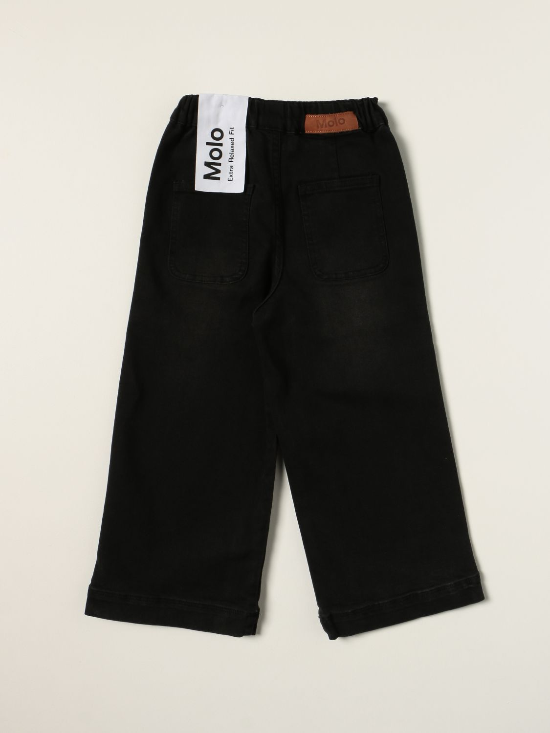 Jeans Molo: Molo jeans in extra relaxed fit denim black 2