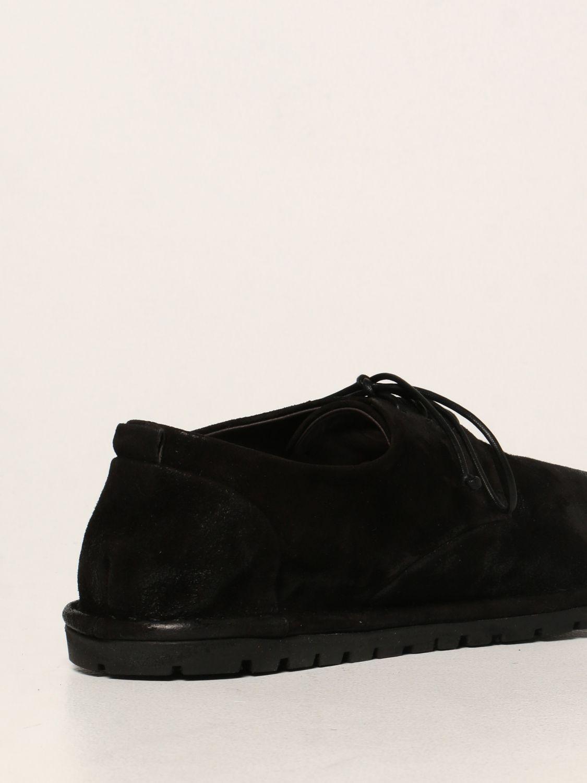 Scarpe stringate Marsell: Derby Sancrispa Marsèll in camoscio nero 3