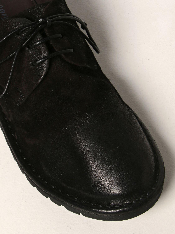 Scarpe stringate Marsell: Derby Sancrispa Marsèll in camoscio nero 4