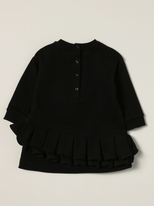 Romper Balmain: Balmain dress with laminated logo black 2