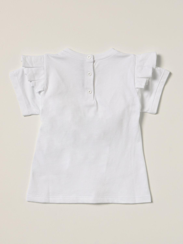 连体装 Balmain: Balmain Logo装饰连衣裙 白色 2