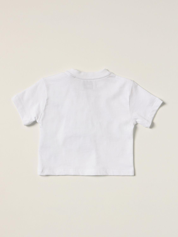 T-shirt Burberry: Burberry cotton T-shirt with Thomas bear white 2