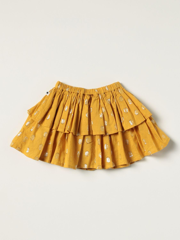 Skirt Molo: Molo mini skirt with lurex polka dots multicolor 2